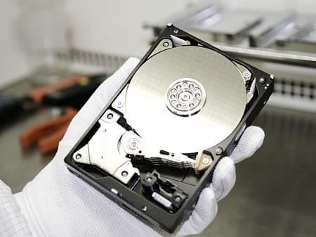 Восстановление жестких дисков HDD
